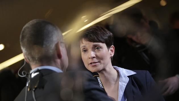 AfD-Chefin Frauke Petry (Bild: AP)