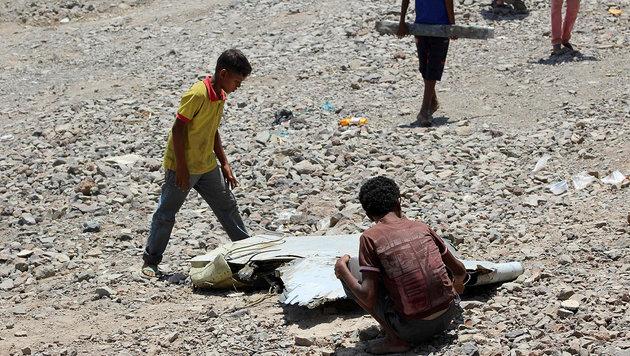 Emirate-Kampfjet im Jemen abgestürzt - Piloten tot (Bild: APA/AFP/Saleh Al-Obeidi)