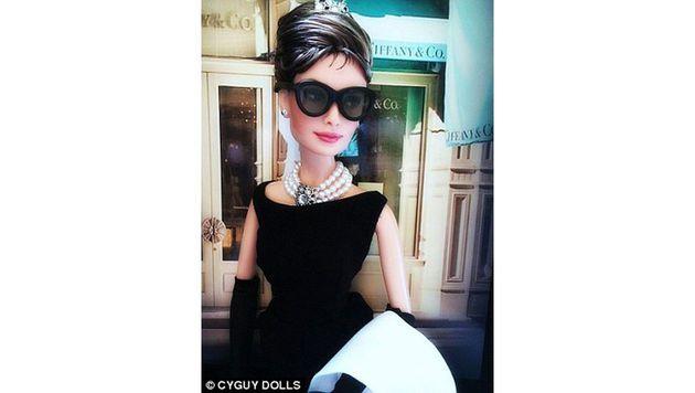 Audrey Hepburn (Bild: instagram.com/cyguydolls)