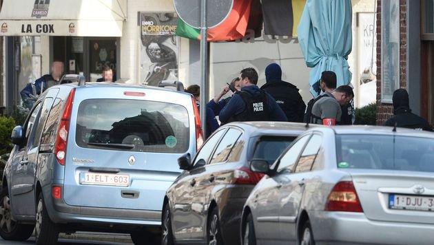 Brüssel: Zwei Festgenommene wieder freigelassen (Bild: APA/AFP/BELGA/Dirk Waem)