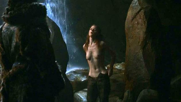 Rose Leslie als Wildlingsfrau Ygritte (Bild: Viennareport)