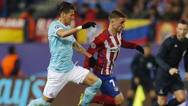 Atletico Madrid nach Elfer-Krimi im Viertelfinale (Bild: AP)
