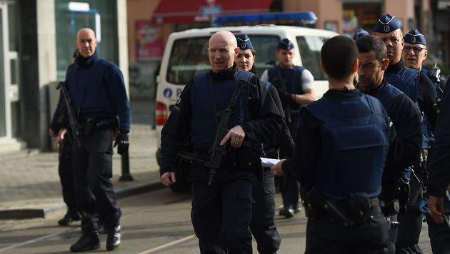 Brüssel: Zwei Festgenommene wieder freigelassen (Bild: APA/AFP/Emmanuel Dunand)
