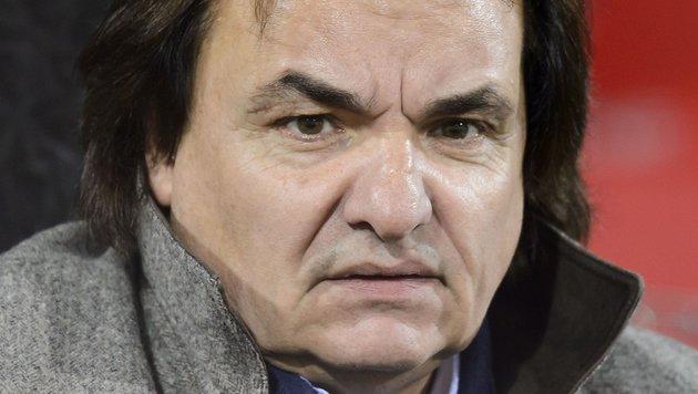 FC-Sion-Präsident Christian Constantin (Bild: APA/AFP/FABRICE COFFRINI)