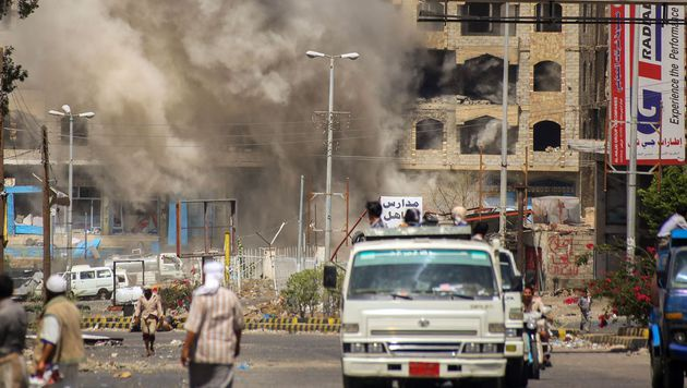 Mindestens 80 Opfer bei Luftangriff im Jemen (Bild: APA/AFP/AHMAD AL-BASHA)
