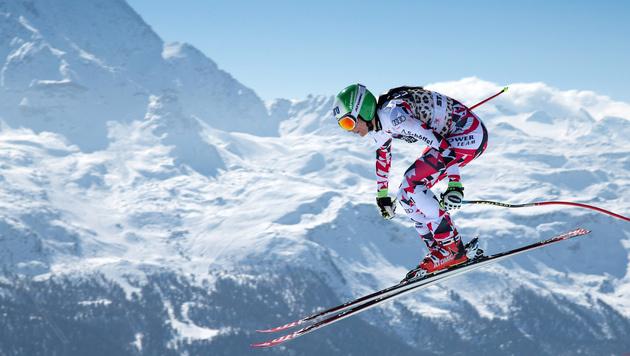 Puchner Vierte im Abfahrtstraining von St. Moritz (Bild: GEPA)