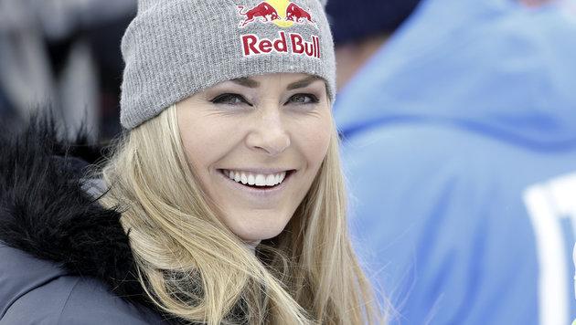 """Vonn holt ihre Kugel ab: """"St. Moritz, ich komme"""" (Bild: AP)"""