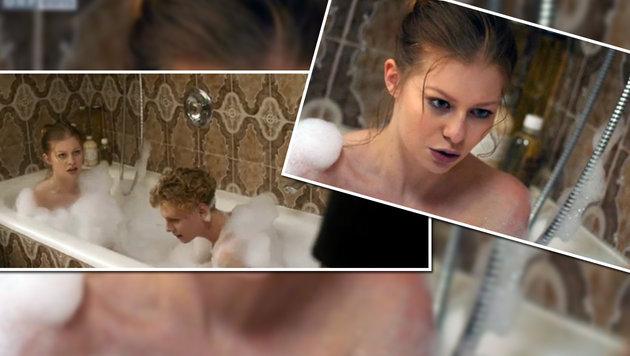Zoe Straub ist sauer wegen einer Nacktszene im TV-Hit des ORF (Bild: ORF)