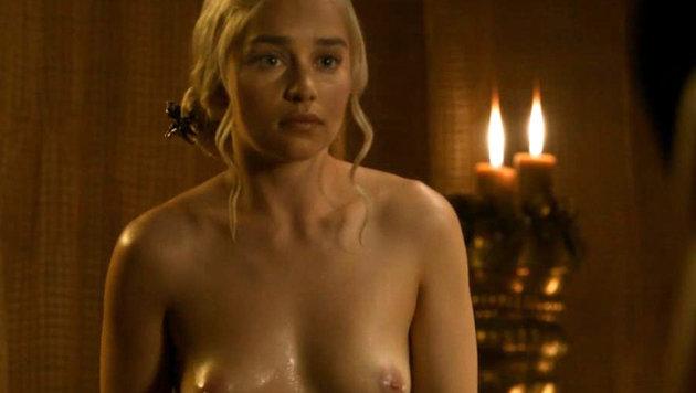 Emilia Clarke als Daennerys Targaryan (Bild: Viennareport)