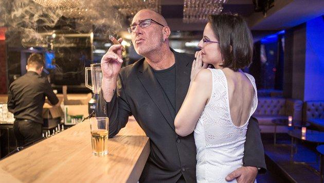 Ingo Oberhofer und Claudia (Bild: ATV/Dominik Schallauer)
