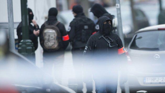 Brüssel: Zwei Festgenommene wieder freigelassen (Bild: APA/AFP/Belga/Laurie Dieffembacq)