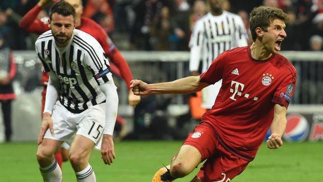 Bayern München dreht irre CL-Partie gegen Juventus (Bild: AFP or licensors)