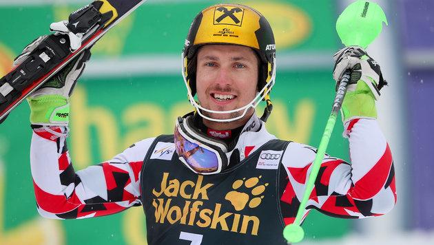 Hirscher nun auch rechnerisch Gesamtweltcup-Sieger (Bild: GEPA)
