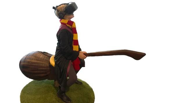 LocomotionVR: Wilder Besenritt mit Harry Potter (Bild: LocomotionVR)