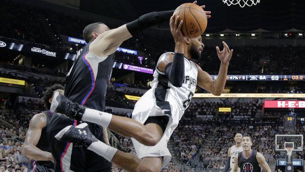 NBA: San Antonio Spurs weiter auf Rekordkurs (Bild: AP)