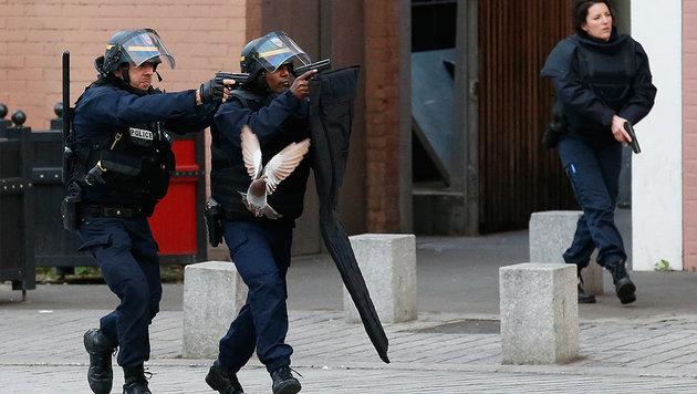 Paris: Anschlag in letzter Sekunde vereitelt (Bild: ASSOCIATED PRESS (Symbolbild))