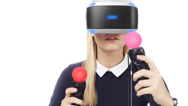 PlayStation VR schon vor Start in Wien erlebbar (Bild: Sony)