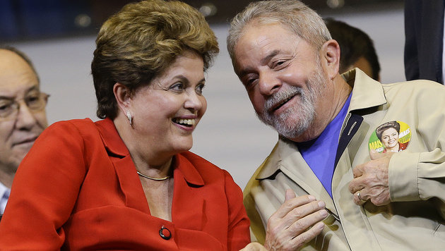 Kann Luiz Ignacio Lula da Silva die Regierung von Präsidentin Dilma Rousseff retten? (Bild: ASSOCIATED PRESS)