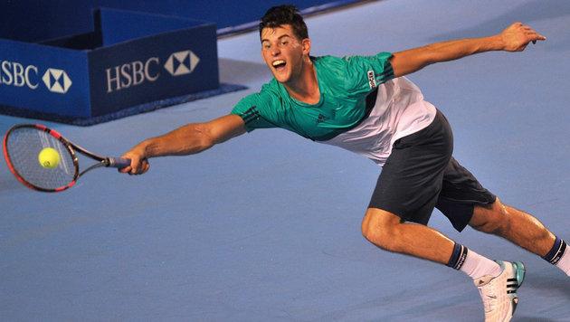 """Thiem: """"Dominator"""" siegt in Indian Wells weiter (Bild: AFP/PEDRO PARDO)"""
