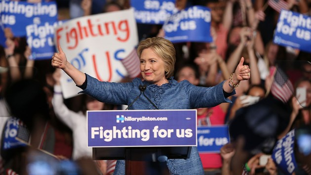 Hillary Clinton (Bild: APA/AFP/Getty Images/Joe Raedle)