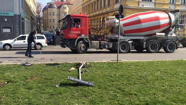 Auto in Wiener Donaukanal gestürzt: Toter geborgen (Bild: Andi Schiel)