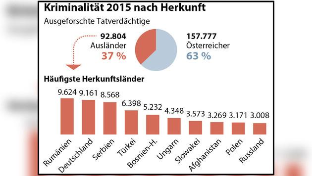 Täglich mehr als 1400 Anzeigen in Österreich (Bild: APA)