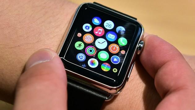 Apple Watch rettet Bauarbeiter das Leben (Bild: AFP)