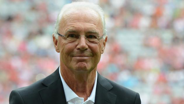 Beckenbauer löst Vertrag mit Bezahlsender Sky auf (Bild: AFP)