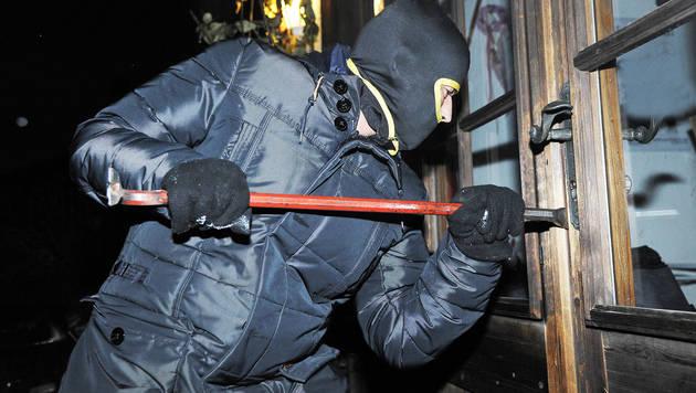 Einbrecher brachten Leiter mit (Bild: ROLAND HOLITZKY)