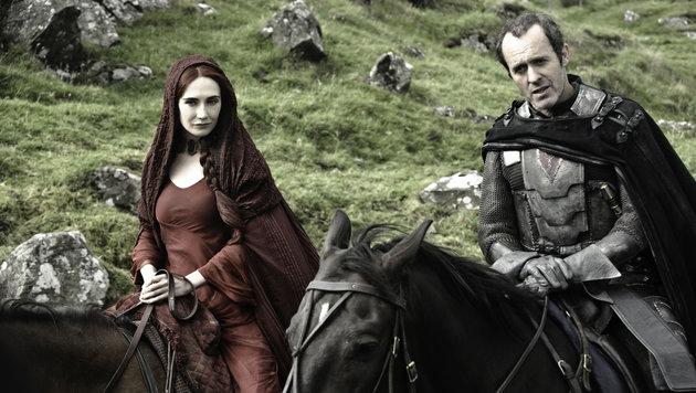 Carice Van Houten (Melisandre) und Stephen Dillane (Stannis Baratheon) (Bild: Viennareport)