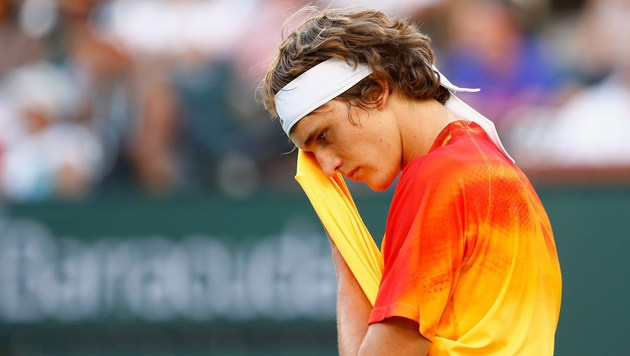 Jungstar Zverev vergab Sensation gegen Nadal (Bild: APA/AFP/GETTY IMAGES/JULIAN FINNEY)