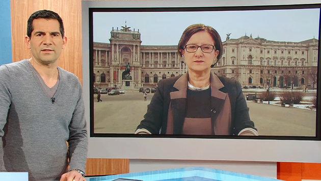 Mikl-Leitner: Mit Härte gegen Ausnahmen für Türkei (Bild: ZDF)