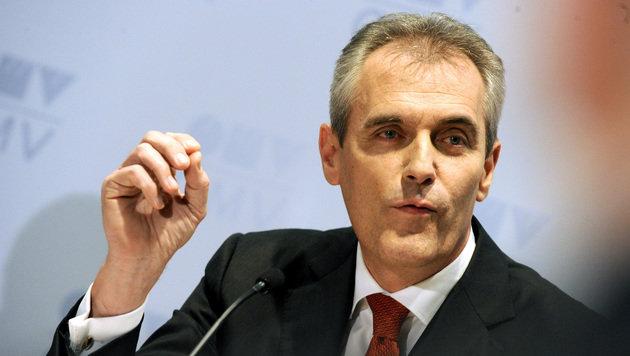 OMV-Generaldirektor Rainer Seele (Bild: APA/HERBERT PFARRHOFER)