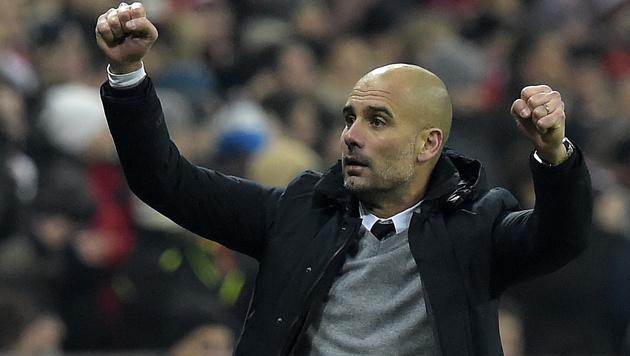 Bayern-Coach Pep Guardiola (Bild: APA/AFP/TOBIAS SCHWARZ)