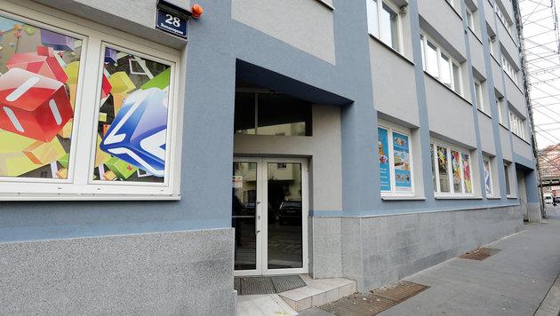 Der Kindergarten in der Romanogasse 28 in Wien-Brigittenau (Bild: Klemens Groh)