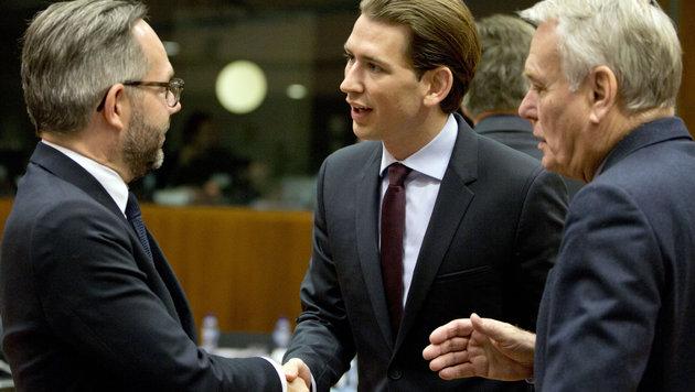 F�r die Zahlungen in den Syrien-Hilfsfonds gab es von der EU Lob f�r �sterreich. (Bild: AP)