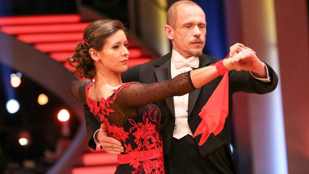 Alexandra Scheriau und Gery Keszler (Bild: ORF)