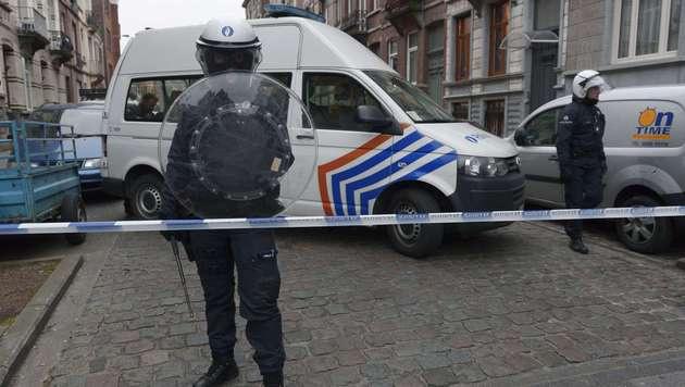 Paris-Terrorist Salah Abdeslam in Belgien gefasst (Bild: APA/AFP/JOHN THYS)