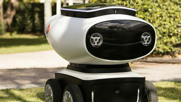 Fast-Food-Kette testet Roboter für Pizza-Lieferung (Bild: AFP)