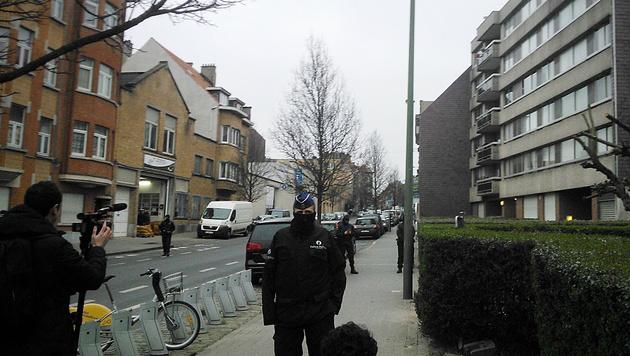Paris-Terrorist Salah Abdeslam in Belgien gefasst (Bild: APA/AFP/BELGA/JAN NAGELS)