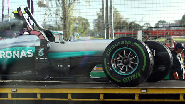 """Melbourne-Training für Vettel """"verschwendete Zeit"""" (Bild: AP)"""