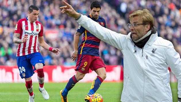 Barcelona mit Hammerlos! Klopp gegen Dortmund (Bild: APA/AFP/OLI SCARFF, GEPA)