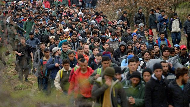 Die Balkanroute ist für Flüchtlinge geschlossen. (Bild: APA/AFP/DANIEL MIHAILESCU)