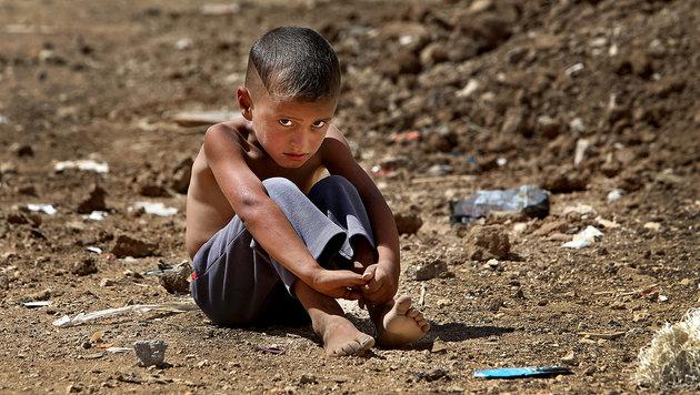 """""""Krone""""-Aktion: Hilfe für Syriens verlorene Kinder (Bild: AP)"""