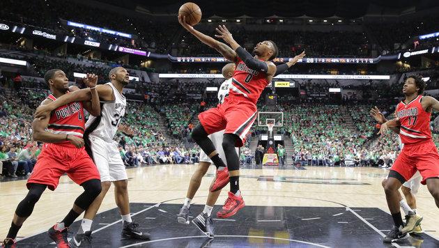 NBA: Spurs gewinnen auch ihr 34. Saison-Heimspiel (Bild: AP)