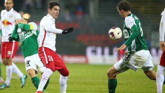 Salzburg will SVM für 1:1 beim WAC büßen lassen (Bild: GEPA)