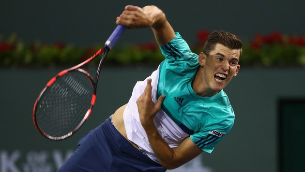 Thiem in Indian Wells im Doppel-Viertelfinale out (Bild: APA/AFP/GETTY IMAGES/JULIAN FINNEY)