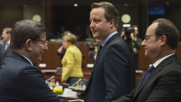 EU-Flüchtlingspakt mit Türkei soll Sonntag starten (Bild: AFP)