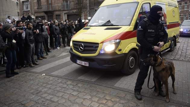 Paris-Terrorist Salah Abdeslam in Belgien gefasst (Bild: APA/AFP/BELGA/DIRK WAEM)