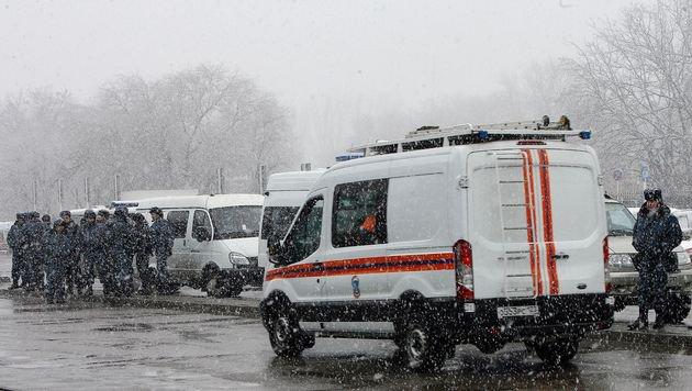 Passagiermaschine in Russland abgestürzt - 62 Tote (Bild: AFP)
